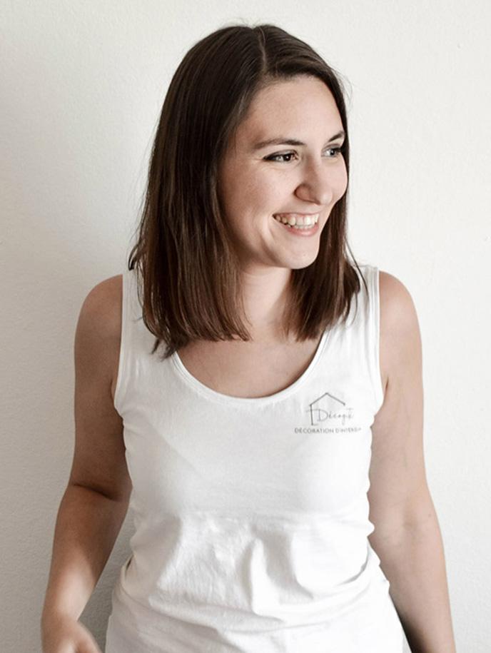 Amanda, co-fondatrice de l'agence Décogité