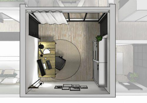 Home staging virtuel et mise en 3D 3